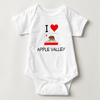 I Love APPLE VALLEY California Tee Shirt