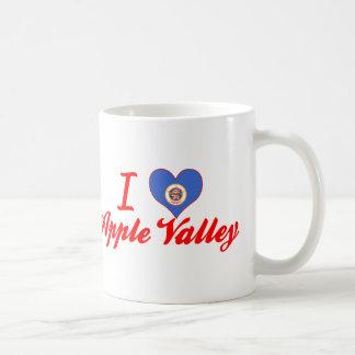 I Love Apple Valley, Minnesota Basic White Mug