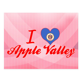 I Love Apple Valley, Minnesota Postcard