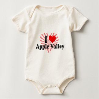 I Love Apple Valley, United States Baby Bodysuits