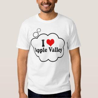 I Love Apple Valley, United States Shirts