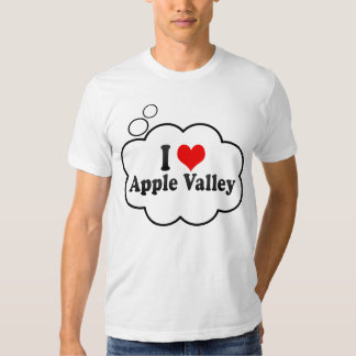 I Love Apple Valley, United States T-shirt