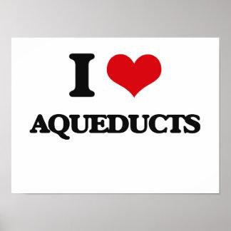 I Love Aqueducts Print