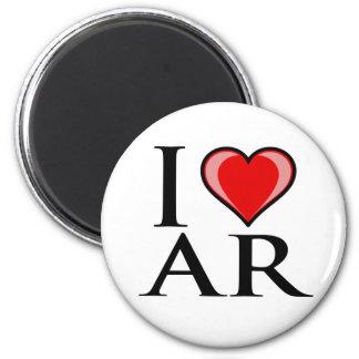 I Love AR - Arkansas Magnet