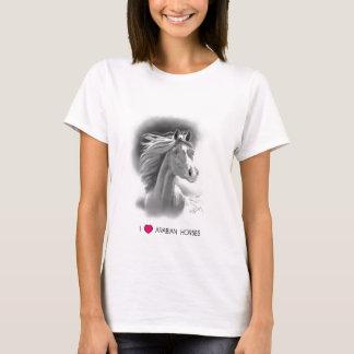 I Love Arabian Horses T-Shirt