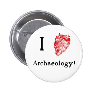 I Love Archaeology Badge