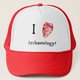 I Love Archaeology Hat