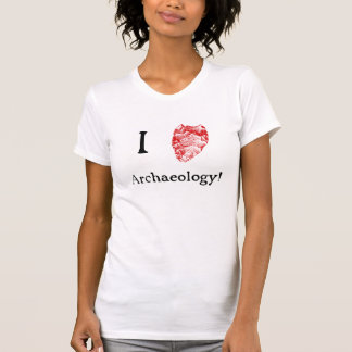 I Love Archaeology Women's T-Shirt