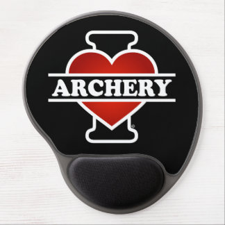 I Love Archery Gel Mouse Pad