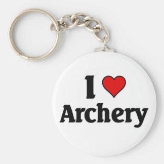 I love Archery Key Ring
