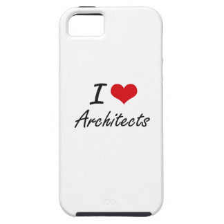 I Love Architects Artistic Design iPhone 5 Cases