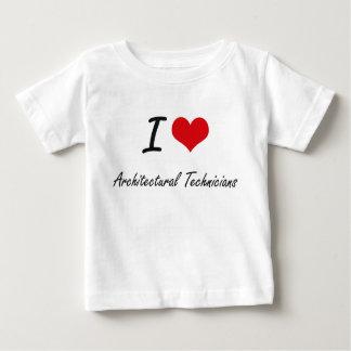I love Architectural Technicians T-shirt