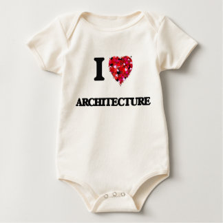 I Love Architecture Bodysuits