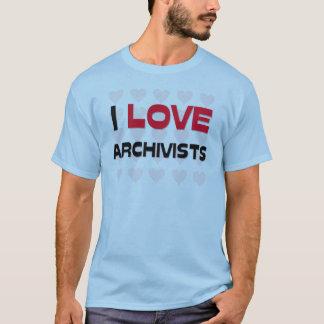 I LOVE ARCHIVISTS T-Shirt