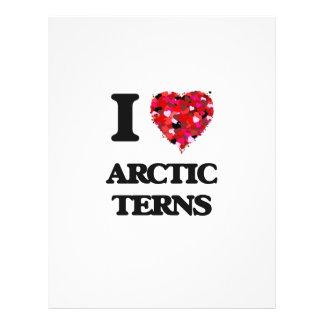 I love Arctic Terns 21.5 Cm X 28 Cm Flyer