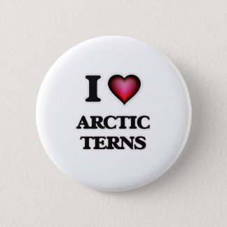 I Love Arctic Terns 6 Cm Round Badge