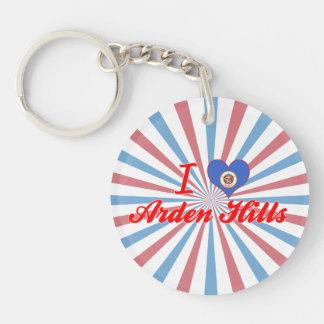 I Love Arden Hills, Minnesota Acrylic Keychains