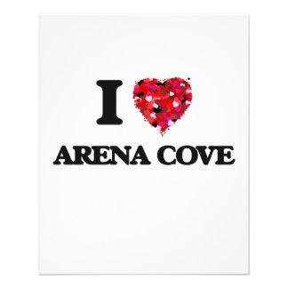 I love Arena Cove California 11.5 Cm X 14 Cm Flyer