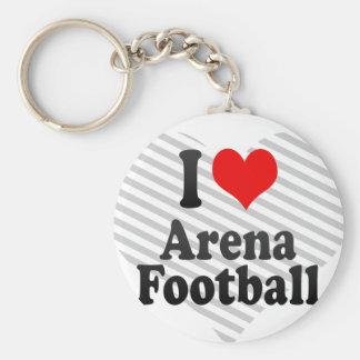 I love Arena Football Key Chains