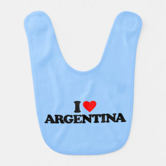 I LOVE ARGENTINA BIB