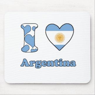 I love Argentina Mouse Mat