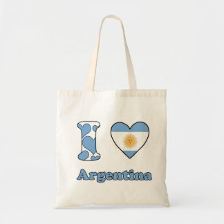 I love Argentina Tote Bag