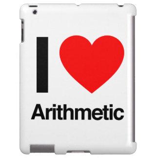 i love arithmetic iPad case