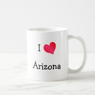 I Love Arizona Basic White Mug