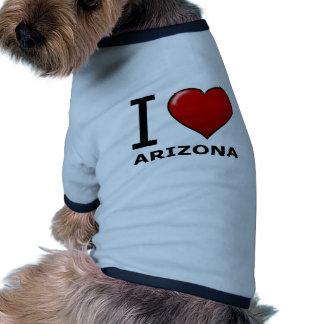 I LOVE ARIZONA PET CLOTHES