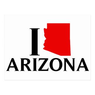 I Love Arizona - I Love AZ Post Card