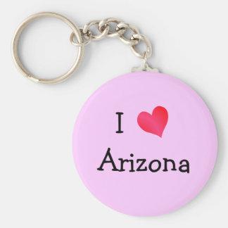 I Love Arizona Key Ring