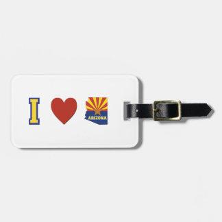 I Love Arizona Luggage Tag