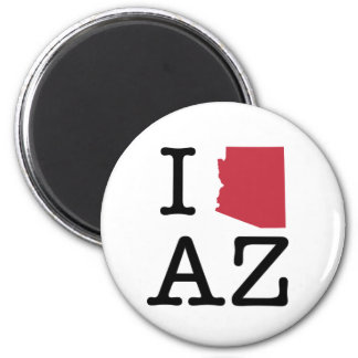 I Love Arizona Magnet