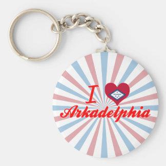 I Love Arkadelphia, Arkansas Key Ring