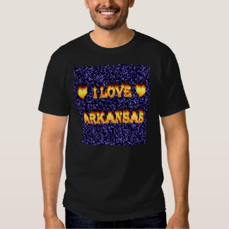 I love arkansas fire and flames tees