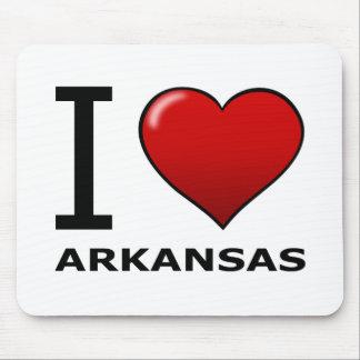 I LOVE ARKANSAS MOUSE MAT