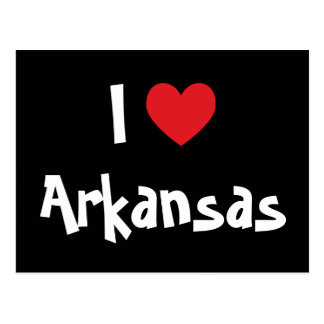 I Love Arkansas Postcard