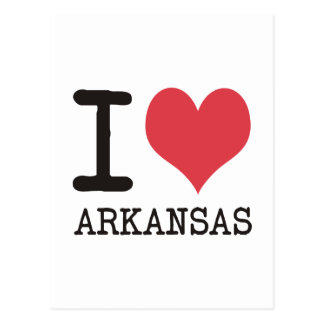 I Love Arkansas Products & Designs! Postcard
