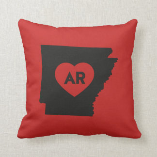 I Love Arkansas State Pillow