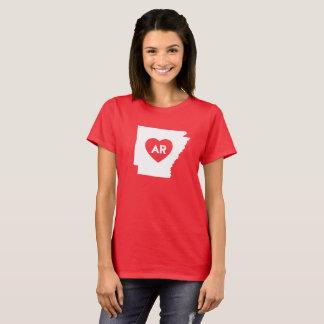 I Love Arkansas State Women's Basic T-Shirt