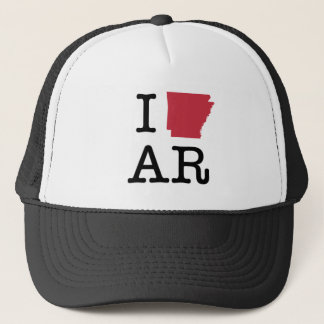 I Love Arkansas Trucker Hat