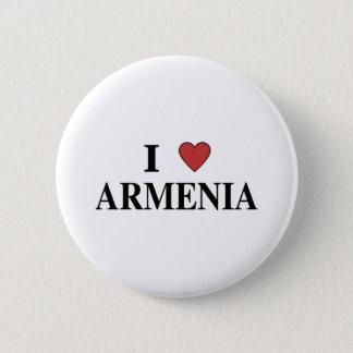 I Love Armenia 6 Cm Round Badge