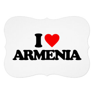 I LOVE ARMENIA CUSTOM INVITES