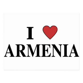 I Love Armenia Postcard