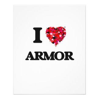 I Love Armor 11.5 Cm X 14 Cm Flyer