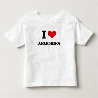 I Love Armories Shirts