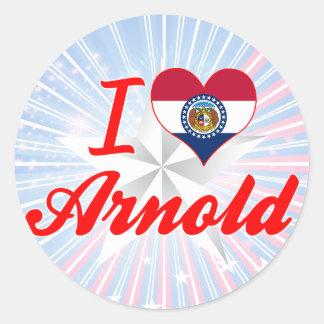 I Love Arnold Missouri Sticker