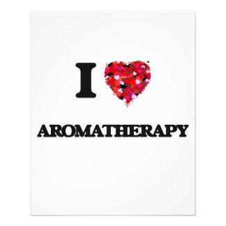 I love Aromatherapy 11.5 Cm X 14 Cm Flyer