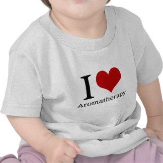 I Love Aromatherapy T Shirts