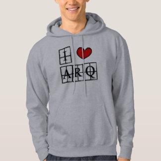 I love ARQ Moletom Printed with Pointed hood Sweatshirts